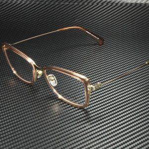 SALE! Versace Pale Gold 52mm Eyeglasses